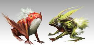 Swamp Creature - Friendly by orochi-spawn