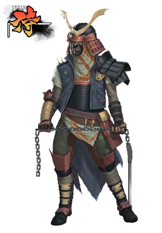 Urban Samurai ... by orochi-spawn