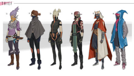 Costumes 1 by orochi-spawn