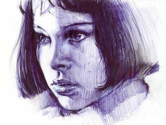 Portrait of a girl. by Vasiliy82