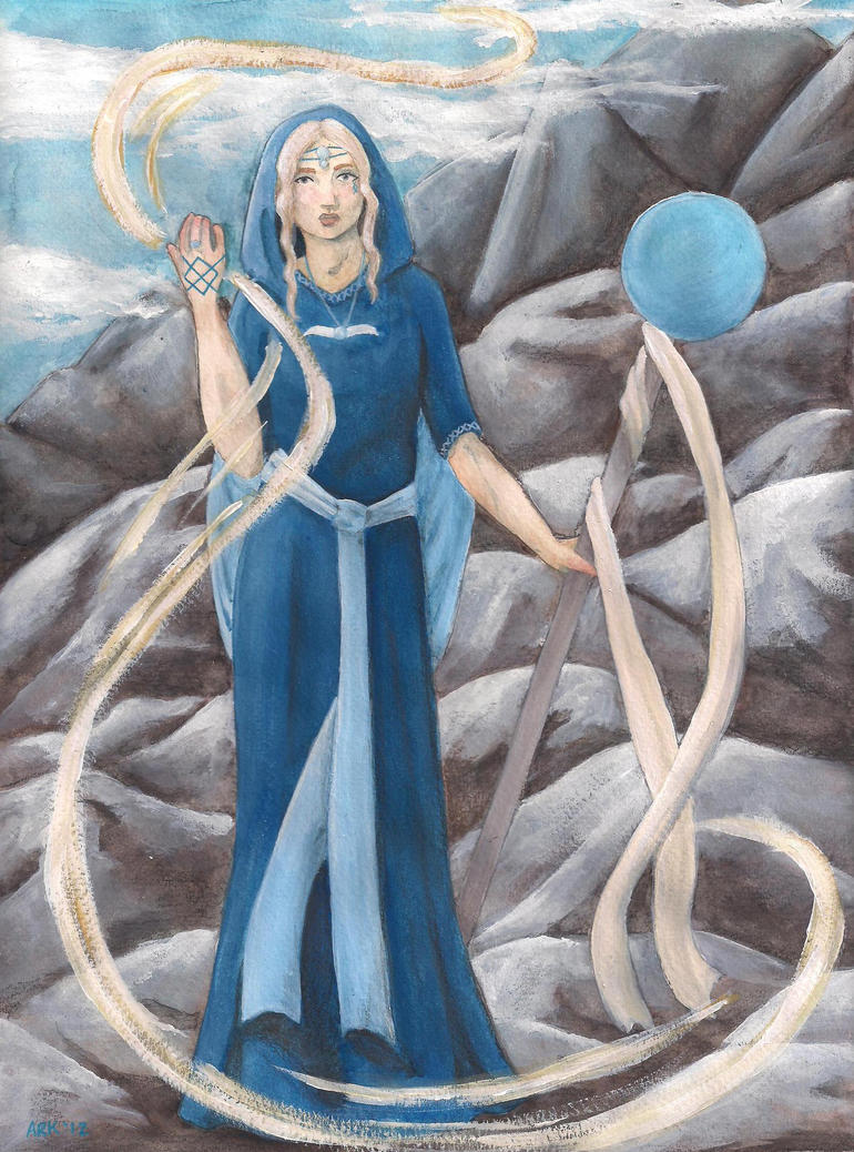 Priestess of Air by SalatrixParvissima