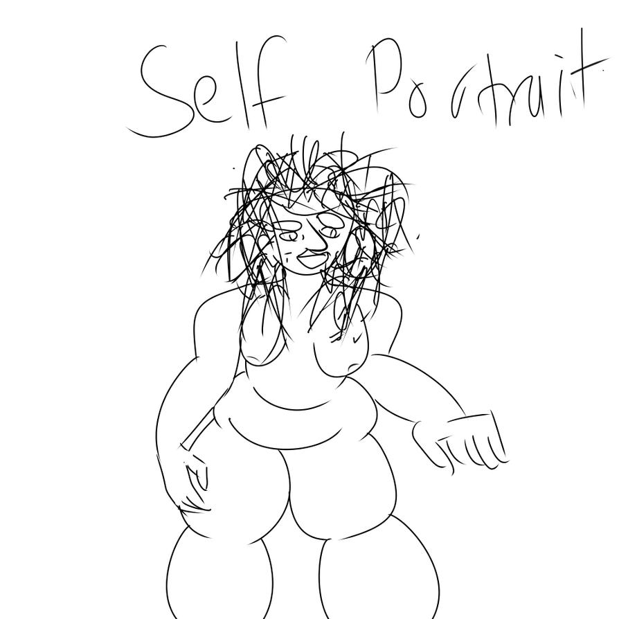 Self portrait by SmirksOverSmiles