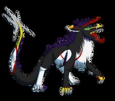 Spiky Demon (Request) by LilDragonheart