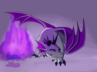 Master of Purple Flames