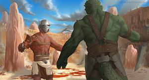 Gladiators by Monsieur-Beefy