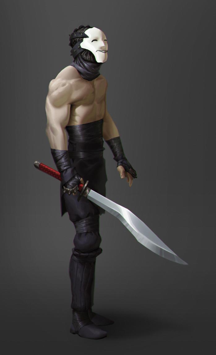 Swordsman by Monsieur-Beefy