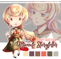 [ OPEN ] Danganronpa Adopt Auction | Storyteller by Ichethrine