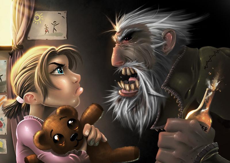 Good vs Evil by RDOWN