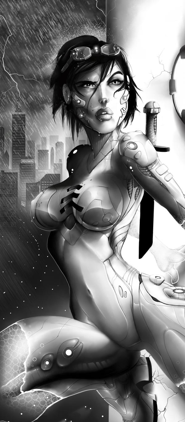 INFILTRATOR-Greyscale by RDOWN