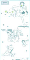 Star Wars: JA  doodles