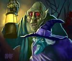 13 Nights 2007 Zombie + Witch