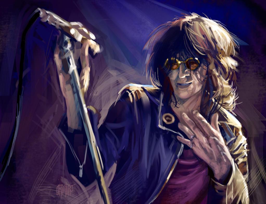 Joey Ramone by Grimbro