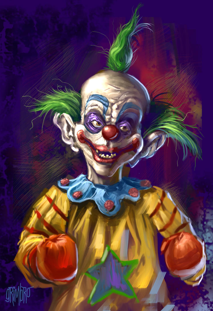 13 nights 2011 killer klown by grimbro on deviantart for Space clowns