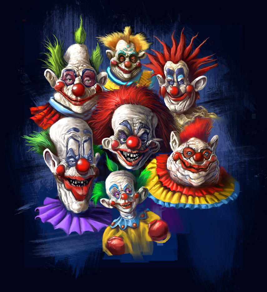 Killer klown t shirt design by grimbro on deviantart for Outerspace design group