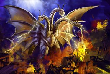 13 Nights 2012 King Ghidorah by Grimbro