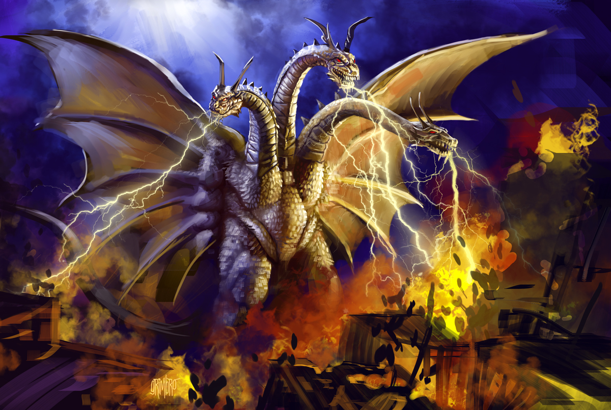 13 Nights 2012 King Ghidorah by Grimbro