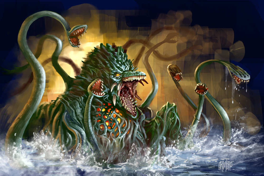13 Nights 2012 Biollante by Grimbro