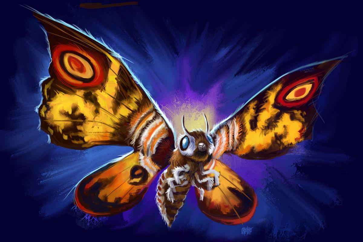 13 Nights 2012 Mothra by Grimbro on DeviantArt