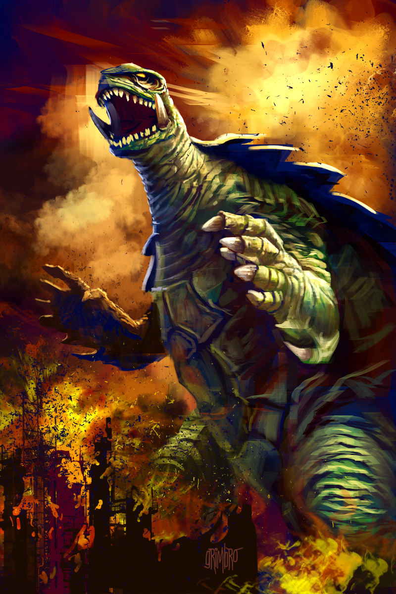 13 Nights 2012 Gamera by Grimbro
