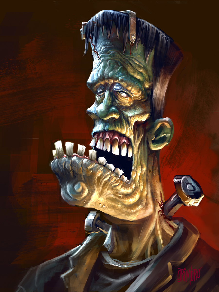 Frankenface by Grimbro