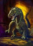 13 Nights of Halloween 2013 Rhedosaurus