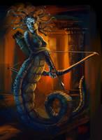 13 Nights of Halloween 2013 Medusa by Grimbro
