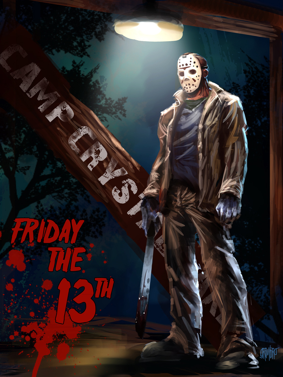 Happy Friday the 13th by Grimbro