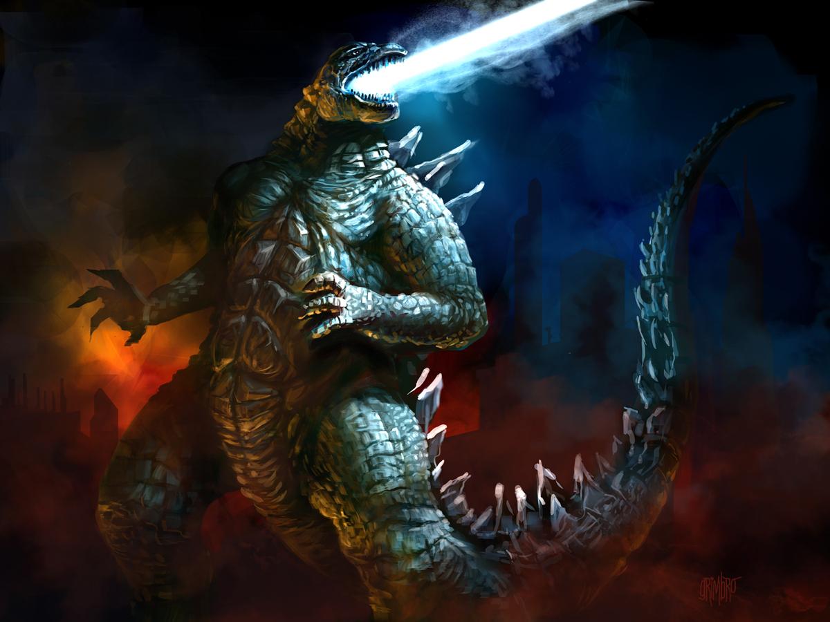 Godzilla 2014 by Grimbro