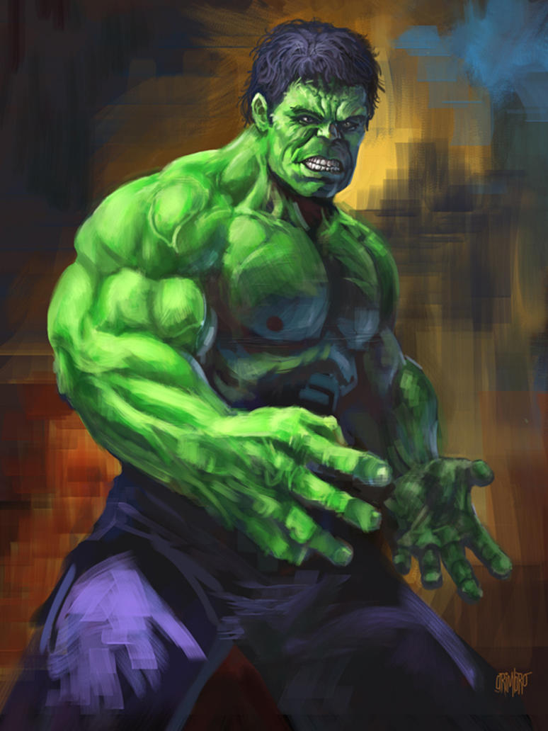 Incredible Hulk Paint Color