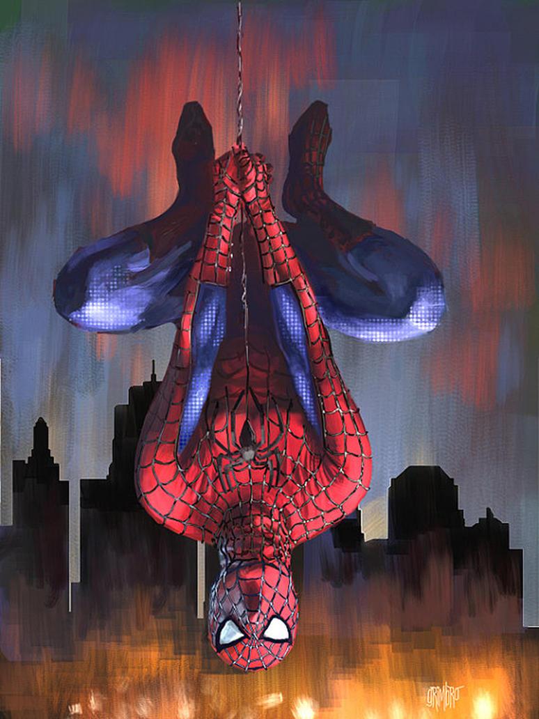 13 NoH Day 6 Spider-Man by Grimbro
