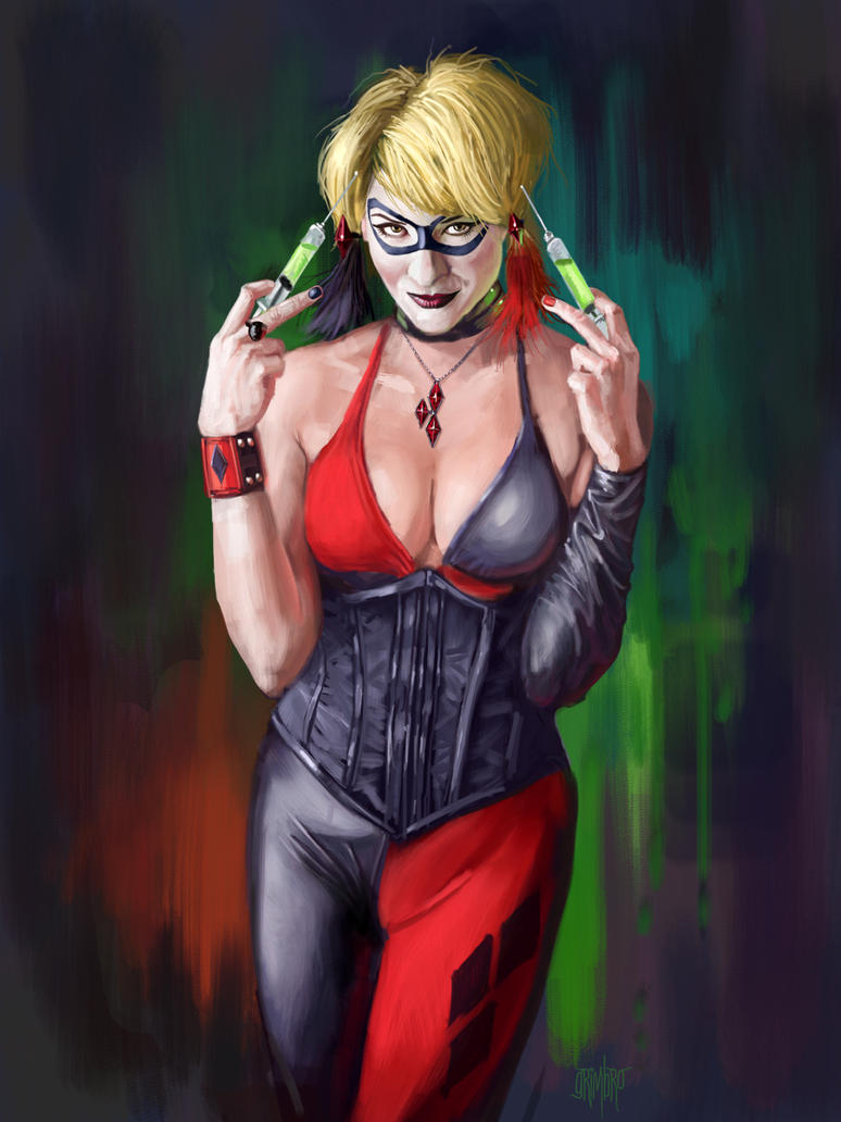 13 NoH Day 7 Harley Quinn by Grimbro