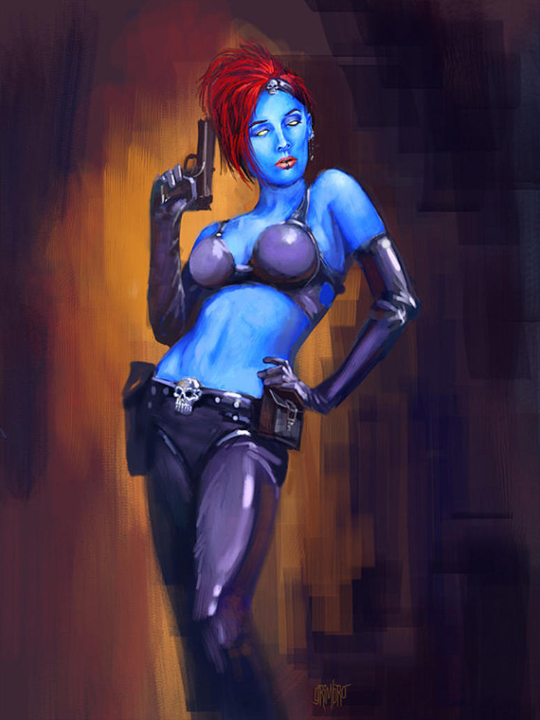 13 NoH Day 9 Mystique by Grimbro