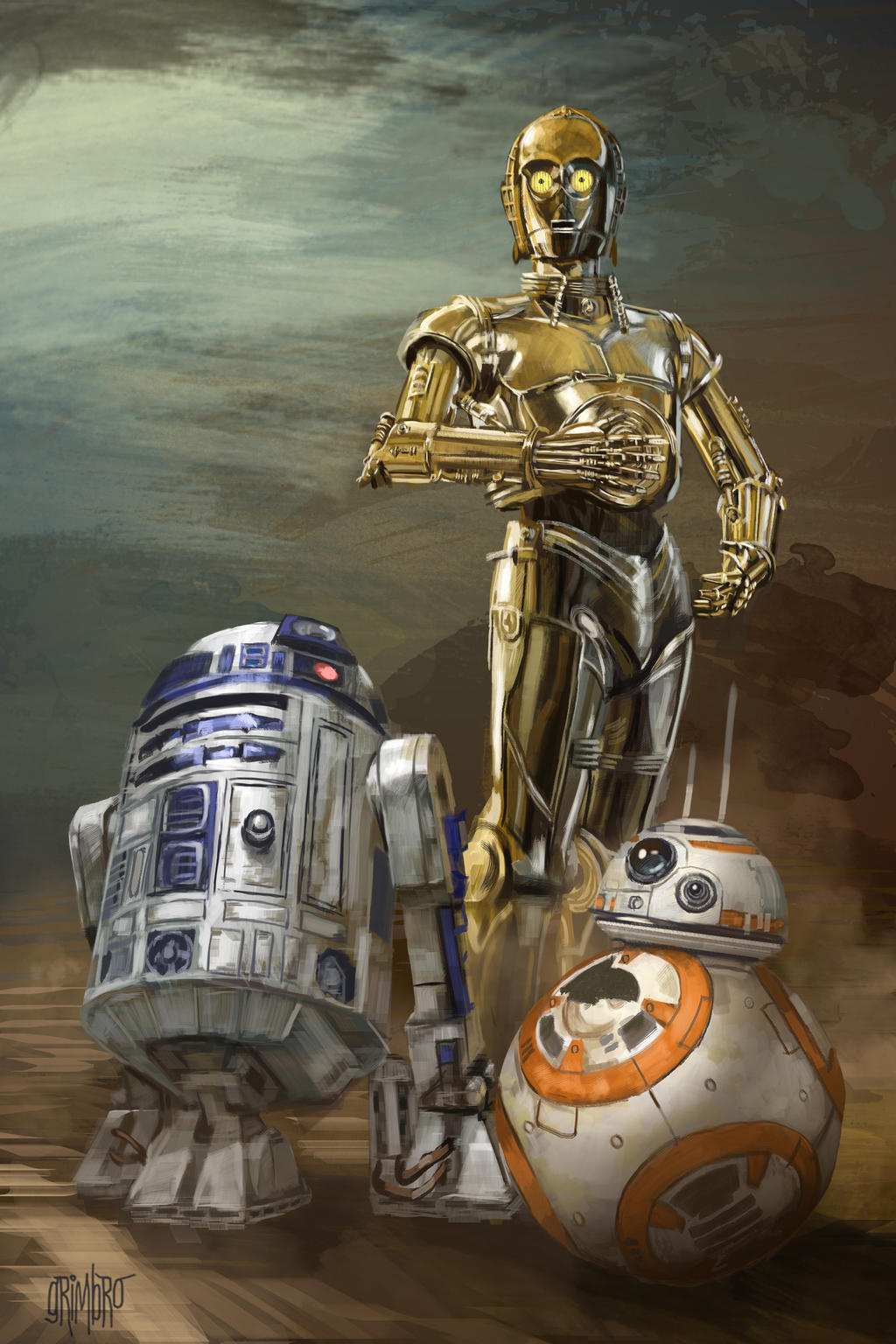 13 Nights of Halloween Day 2  Droids by Grimbro
