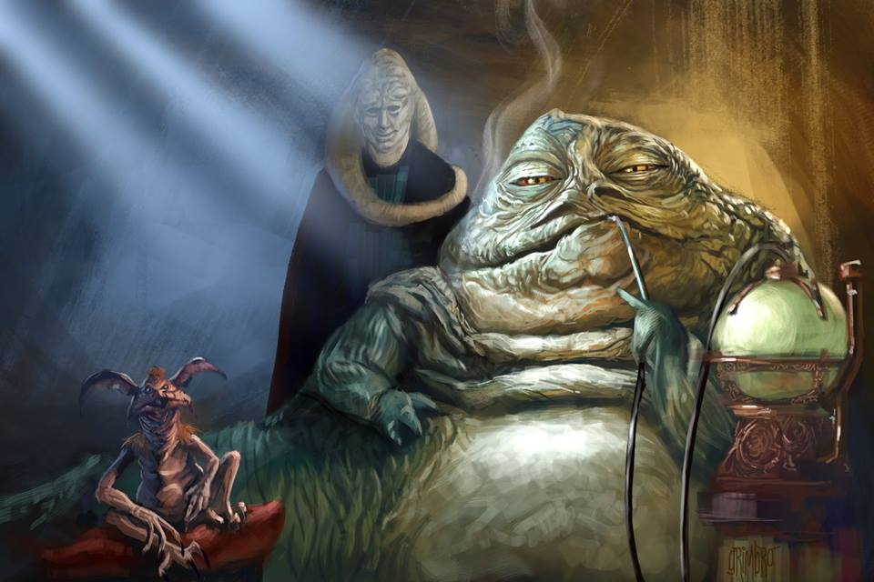 13 NoH Day 3 Jabba the Hutt by Grimbro