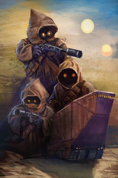 Day 5 of 13 Nights of Halloween. The Jawas