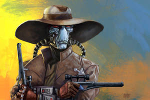 13 NoH day 6 Cad Bane by Grimbro