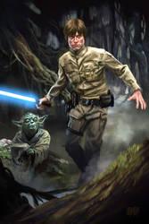 13 Nights of Halloween Day 11 Luke and Yoda