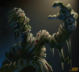 SPEED PAINT 'The Mummy' by Grimbro