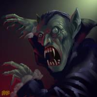 SPEED PAINT 'Vampire' by Grimbro