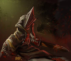 Pyramid Head Speed Paint by Grimbro