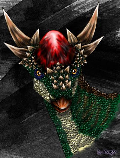 Stygimoloch by khamykc blackout on deviantart for Art 1576 cc