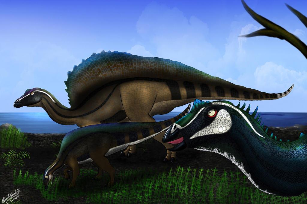 Ouranosaurus by Khamykc-Blackout on DeviantArt