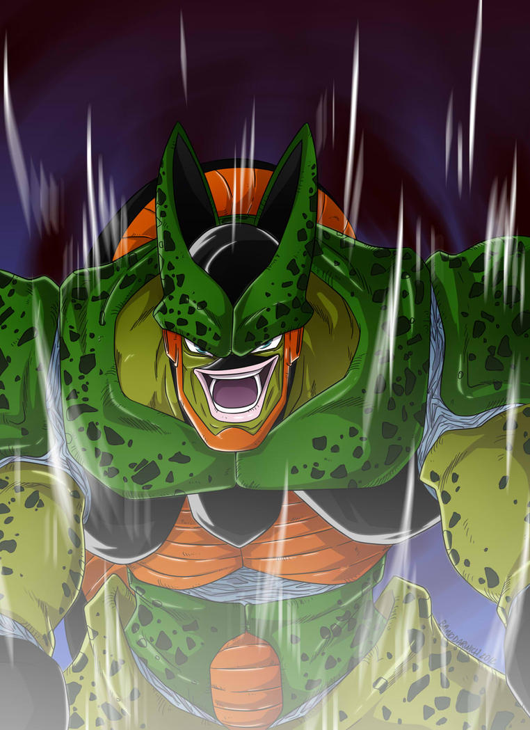 Cell 2nd form Dragon Ball Z by tysuyo on DeviantArt