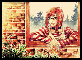 Long-red-hair's Birthday Fix by Sagitt000