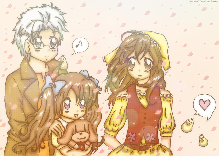 Harvest Moon TOTT - Family by nomscookie on DeviantArt