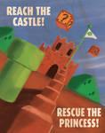 Retro Super Mario Propaganda Poster