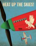 Sriracha Propaganda Poster
