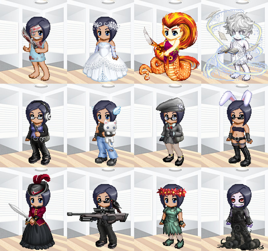 Gaia Online avatars by CassidyPeterson
