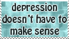 Depression Stamp by CassidyPeterson