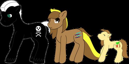 USD$12 Pirate Pony Family - OPEN